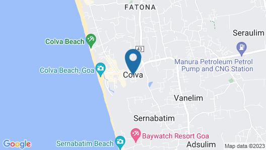 SaffronStays Belvedere Map