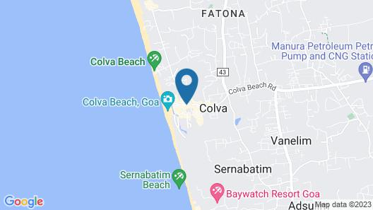 Colva Tavern Map
