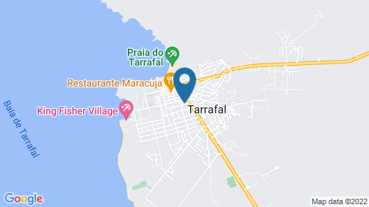 Tarrafal's Meeting Point Map