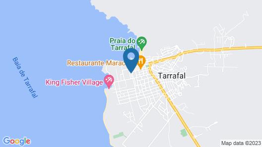 Yellow House Tarrafal Map