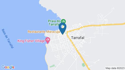 Pensão Da Mex Tarrafal Map
