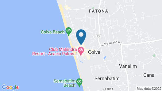 Hotel Ocean Touch Map