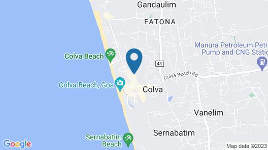 Silver Sands Beach Resort Map
