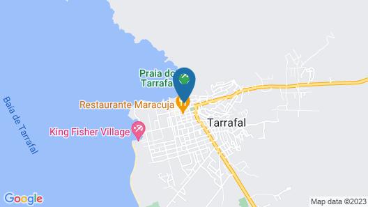 Hotel Cachoeira Tarrafal Map