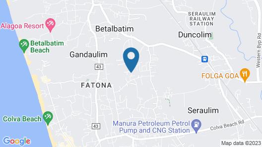 Sunshine Villa Map