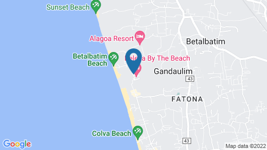 Beleza By The Beach Map
