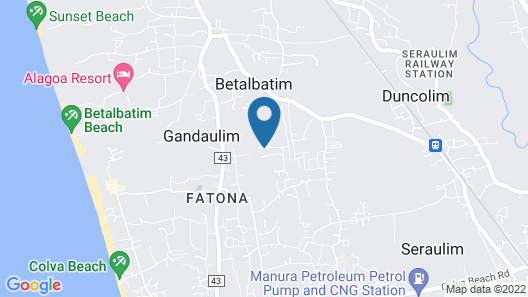 Treehouse Blue Villas Map