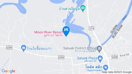 Moonriver Resort Map