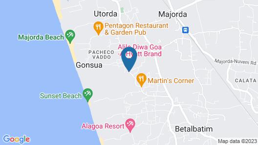 Alila Diwa Goa - A Hyatt Brand Map