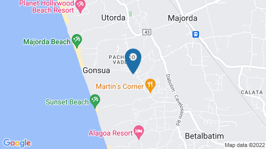 The Diwa Club by Alila Diwa Goa - A Hyatt Brand  Map