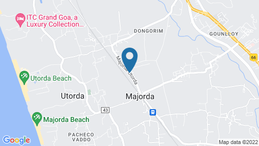 Treehouse Blue Service Apartment Map