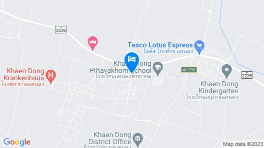 Raveekan Resort Map