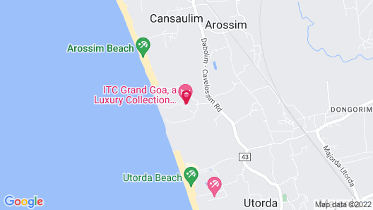 ITC Grand Goa, a Luxury Collection Resort & Spa, Goa Map