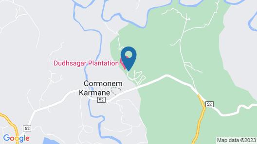 Dudhsagar Plantation Map