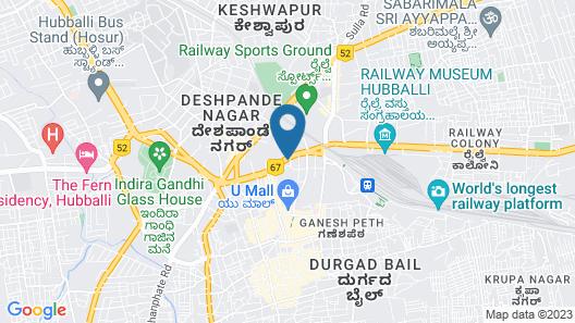 iROOMZ Samrat Ashok Map