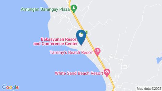 Bakasyunan Resort Zambales Map