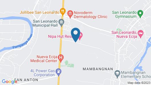 Nipa Hut Resort Map