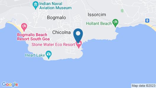 Stone Water Eco Resort Map