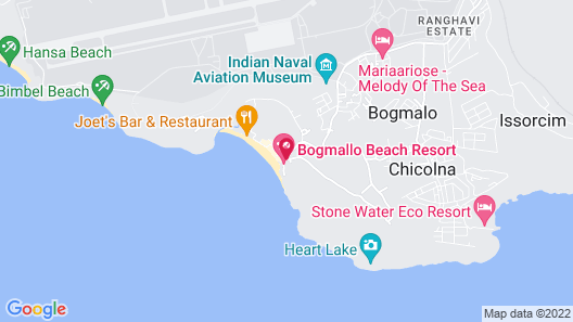 Bogmallo Beach Resort Map