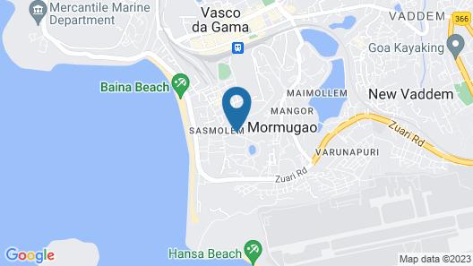 Vasco Residency Map