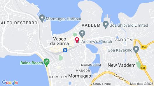 Hotel Supreme Map