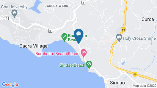 Grand Hyatt Goa Map
