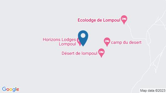 Ecolodge de Lompoul Map