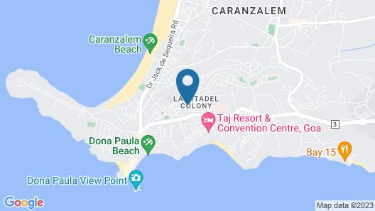 Treebo Tryst Dona Paula Map