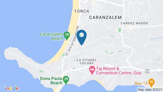 The Fern Residency Miramar Map