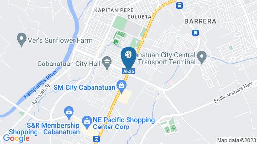 Hotel Sogo Cabanatuan Map
