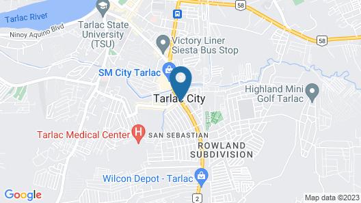 Hotel Sogo Tarlac Map