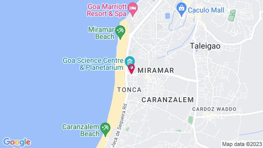 Varanda Do Mar Map