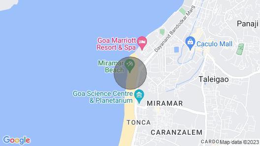 6 bedroom villa near the beach Map