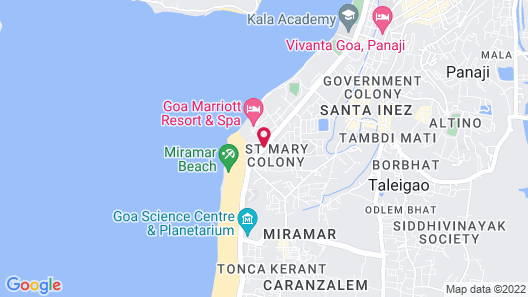 Fortune Miramar - Member ITC Hotel Group Map