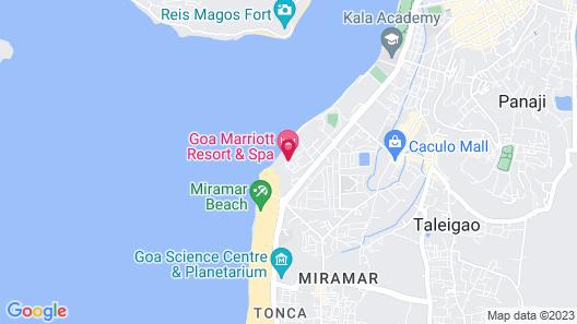 Goa Marriott Resort & Spa Map