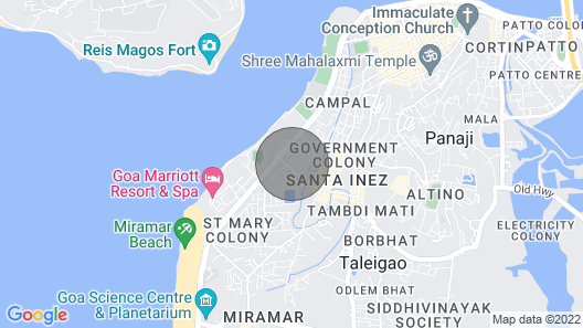 OYO 66211 Natasha Hotel Map