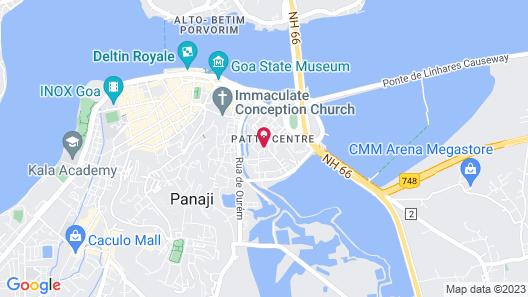 Ginger Goa Map