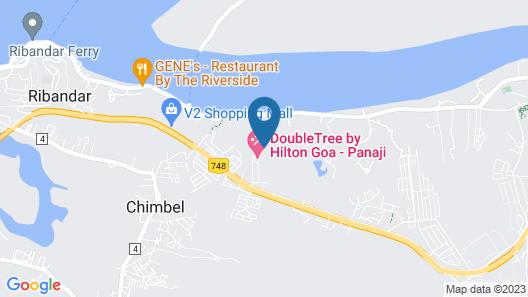 DoubleTree by Hilton Goa-Panaji Map