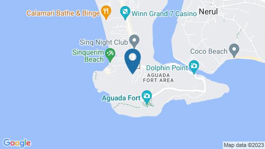 Bougainvillea Guest House Map