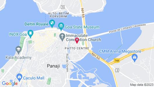 Country Inn & Suites by Radisson, Goa Panjim Map