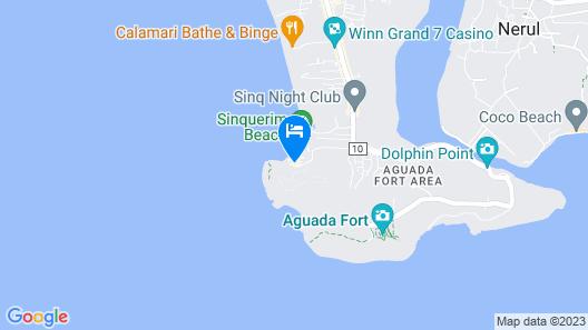 Taj Fort Aguada Resort & Spa, Goa Map
