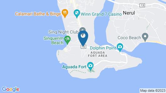 Aguada Anchorage - The Villa Resort Map
