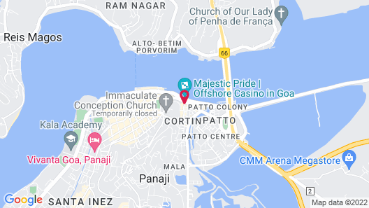 OYO Rooms Goa Post Office Map