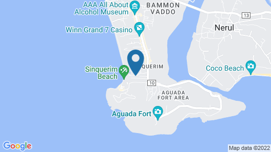 Taj Holiday Village Resort & Spa Map