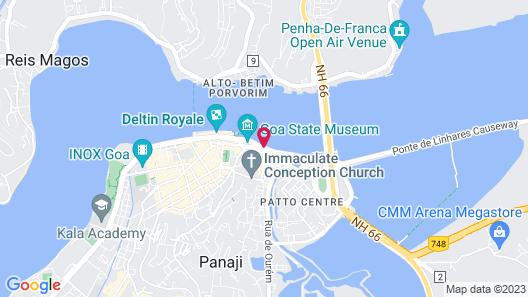 Deltin Caravela Map