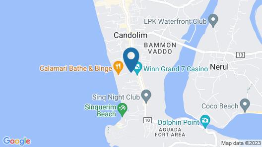 Santana Beach Resort Map