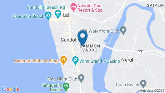 Acron Candolim Regina Map