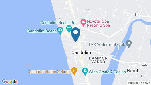 Park Inn by Radisson Goa Candolim Map