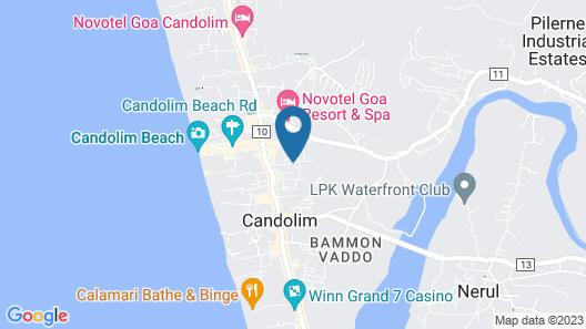 Highland Beach Resort Map