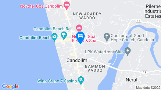 Highland Beach Resort Map